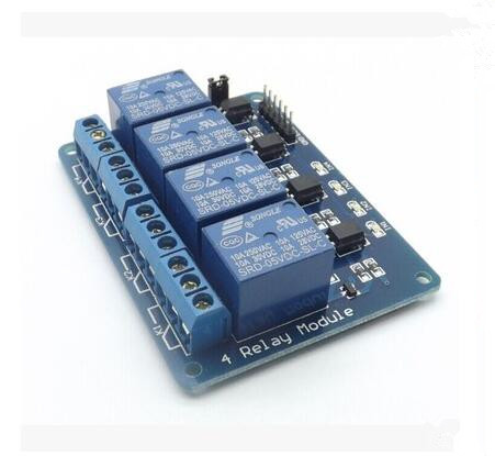 1pc 5V 4-Channel Relay Module Shield for Arduino ARM PIC AVR DSP Electronic 5V 4 Channel Relay Newest