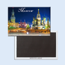 Moscow Fridge Magnets 21619 Red Square Tourist Attraction
