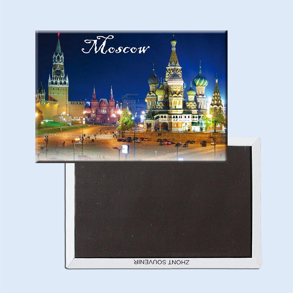 Moskou Magneten 21619 Red Square Toeristische attractie
