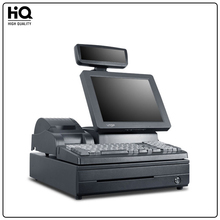 Cash Register Cash POS Machines XP system 800*600, plus 12-inch glass protection screen,DDR3-1G In memory,32G Solid State Drives