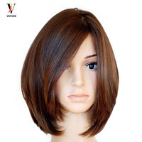 Jewish Wig Full Lace Front Human Hair Wigs Pre Plucked European Virgin Hair Human Hair Wigs Pre Colored Venvee