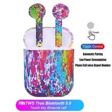 Upgrade i18s TWS Wireless Bluetooth 5.0 Touch Control Earphones Mini 3D Super Bass Earbuds pk i7s i9s i10 i11 i12