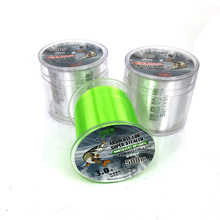 New Available 500M Fluorocarbon Fishing Line Super Strong Nylon Line fly fishing line pesca Green/White