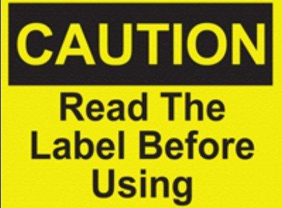 200 шт 20x15 см внимание, Прочитайте этикетку перед использованием для машинной эксплуатации инструкции этикетка наклейка, пункт № CA20