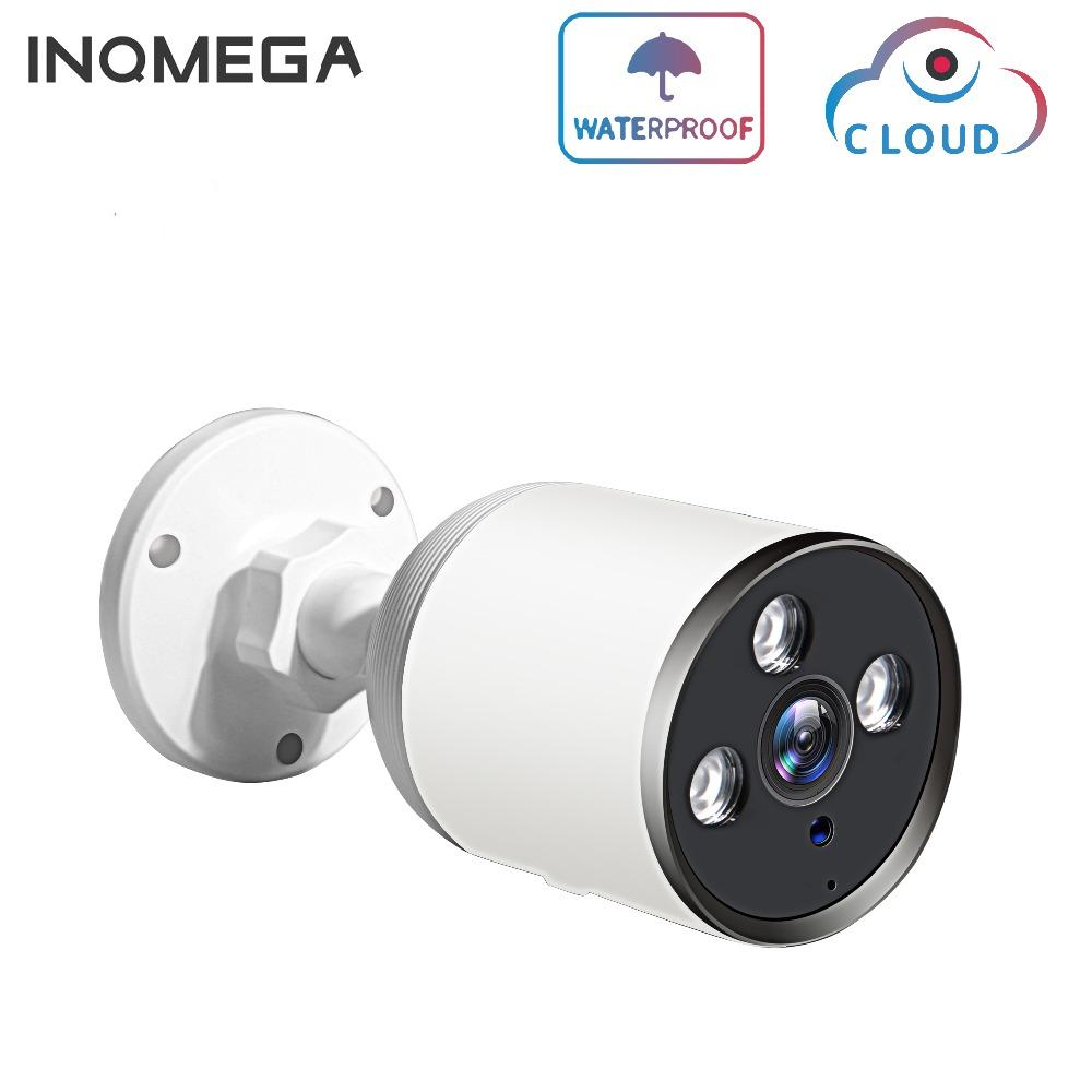 INQMEGA Cloud Wifi Outdoor IP Camera 4MP 1080P Waterproof IP66 Wireless Surveillance Security CCTV Camera ONVIF P2P Bullet ONVIF
