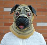 Halloween Mask Prom Supplies Venice Mask Cartoon Animal Mask Sand Dog Mask Cute Dog Headset