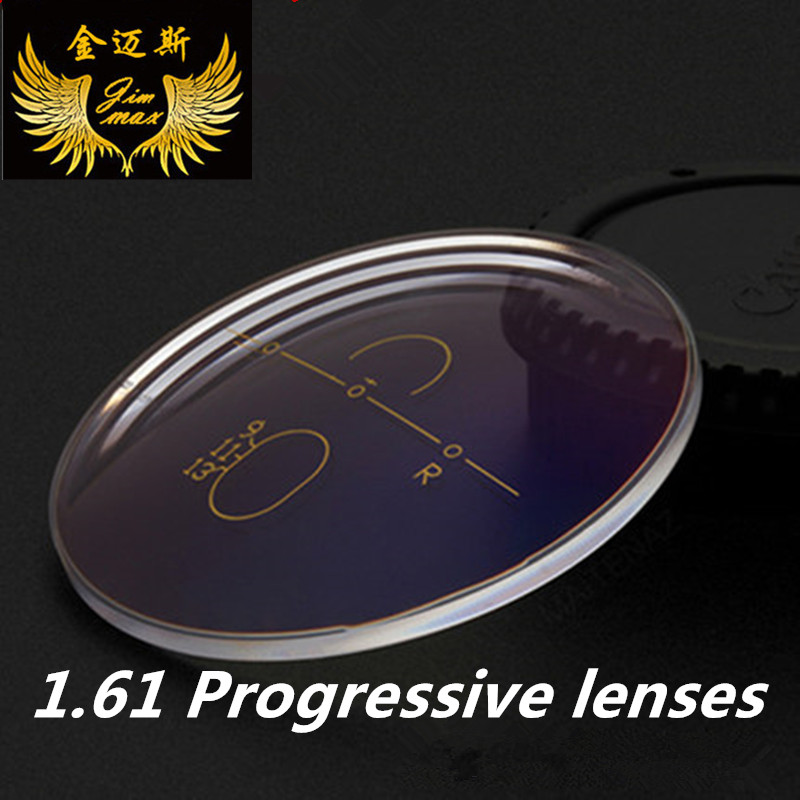 1 61 anti scratch progressive prescription lenses quality super thin CR39 aspheric multifocal resin presbyopia and