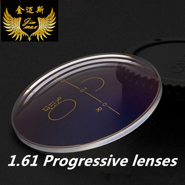 1.61 anti risco qualidade super fino asférica CR39 LENTES multifocais progressivas lentes de prescrição resina presbiopia e lente miopia