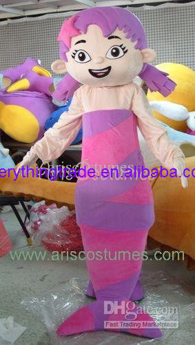 Hot sale 2017 bubble guppies character mascot costume carnival costumes cartoon wear characters party costumes-in Mascot from Novelty u0026 Special Use on ... & Hot sale 2017 bubble guppies character mascot costume carnival ...
