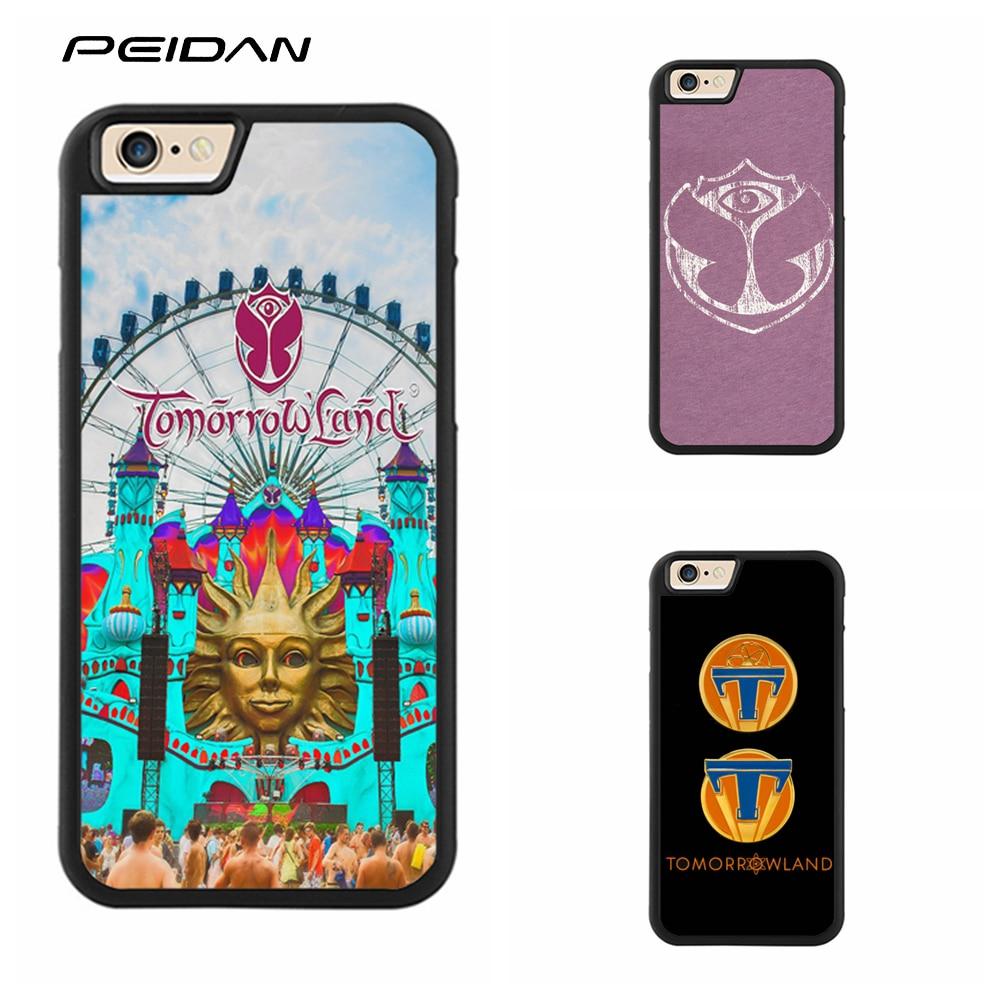 PEIDAN Tomorrowland Full Protective cover cell phone case for iphone X 4 4s 5 5s 6 6s 7 8 6 plus 6s plus 7 plus 8 plus #qq367