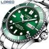 LOREO Men S Classic Diving Series Mechanical Watches 50m Waterproof Steel Stainless Brand Luxury Watch Men