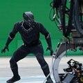 Negro pantera trajes adultos traje de pantera negro guerra civil cosplay mens spandex de una pieza lycra zentai traje de halloween