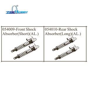 Image 1 - Hsp amortisseur, pièces de rechange en aluminium pour voiture de course, hsp 1/5 buggy sans balais 94059 (pièce n ° 054009, 054010)