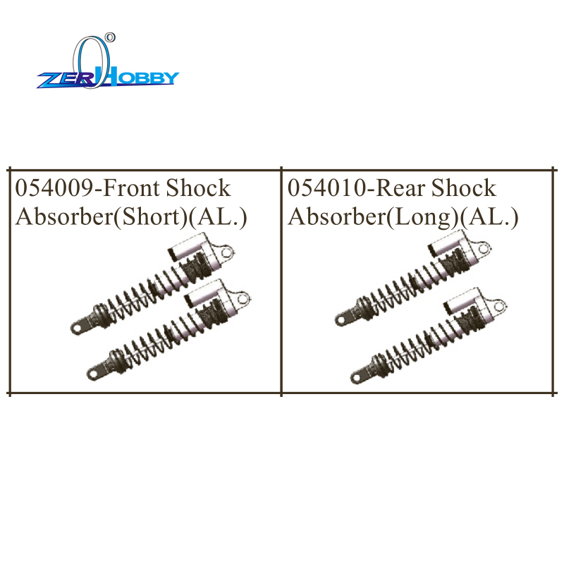 Image 4 - hsp racing car aluminum upgradable spare parts shock absorber for hsp 1/5 brushless buggy 94059 (part no. 054009, 054010)-in Parts & Accessories from Toys & Hobbies