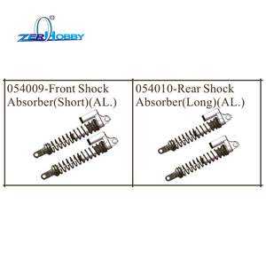 Image 1 - hsp racing car aluminum upgradable spare parts shock absorber for hsp 1/5 brushless buggy 94059 (part no. 054009, 054010)