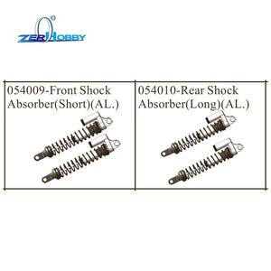 Image 1 - Обновленные запасные части hsp для гоночных автомобилей алюминиевый, амортизатор для hsp 1/5, Бесщеточный Багги 94059 (Часть № 054009, 054010)