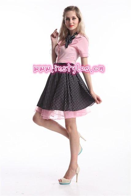2d6a609a3e72 FREE SHIPPING 1950s Grease Rock N Roll Bopper Fancy Dress Costume Sc 1 St  Aliexpress