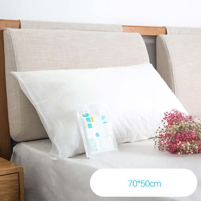 Aliexpress Buy Non Woven Disposable Pillowcase Antifouling Beauteous How To Clean Pillow Covers