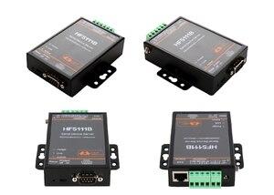 Image 1 - HF5111B シリアルデバイスサーバ RS232/RS485/RS422 シリアルイーサネット送料 RTOS シリアルサーバ F22498