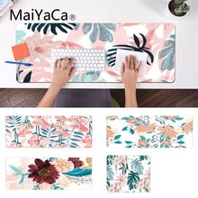 MaiYaCa ваши собственные коврики банановый лист цветок геймерская игра коврики износостойкий коврик для мыши резиновый коврик для мыши коврик
