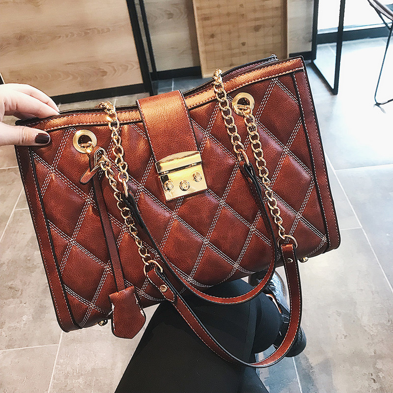 2019 Brand Leather Tote Bag Women Handbags Female Designer Large Capacity Leisure Shoulder Bags Fashion Ladies Purses Bolsas2019 Brand Leather Tote Bag Women Handbags Female Designer Large Capacity Leisure Shoulder Bags Fashion Ladies Purses Bolsas