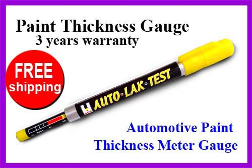 NEW BIT 3003 Car Paint Thickness Tester Meter Gauge CRASH CHECK TEST