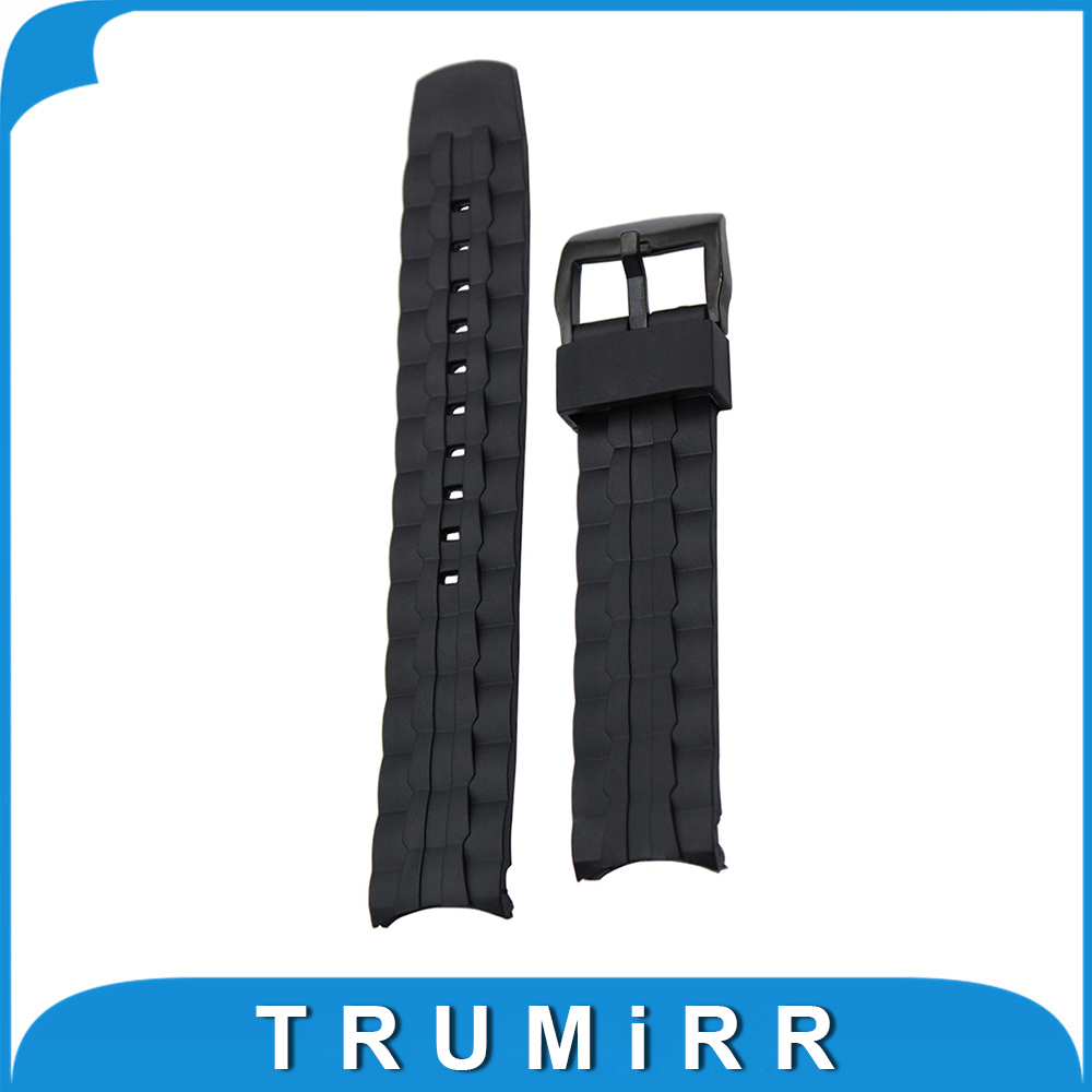 Silicone Rubber Watchband for Casio Edifice EF550 EF552 Replacement Watch Band Sport Strap Stainless Steel Buckle Wrist Bracelet 20mm 23mm high quality rubber silicone watchband for armani silicone rubber wrapped stainless steel watch strap for ar5906 5890