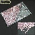 BlueZoo 10000 pcs 1.5mm Rodada Brilhante Acrílico Rhinestone Studs Rosa Rhinestone Nail Art Decoração Glitter Para DIY Dicas de Decoração