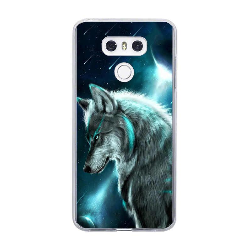 Funda de teléfono TPU suave para LG G6 G7 G5 G4 V20 V30 V35 V40 THINQ LG K8 K7 K10 K4 2017 2018 K9 K11 Plus