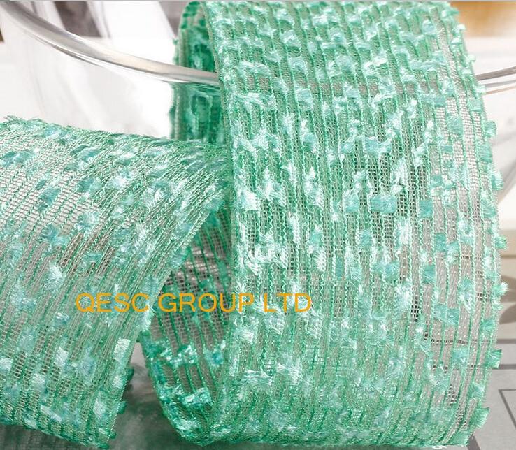 Green Netting ribbon lace ribbon net fabric for fascinator Wedding ...
