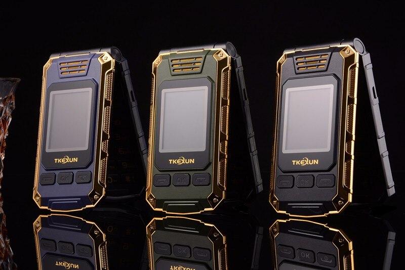 tkexun г5 для женщин флип телефон с двойной экран с Bluetooth камера две сим-карты 2.4 дюймов сенсорный экран роскошный сотовый телефон