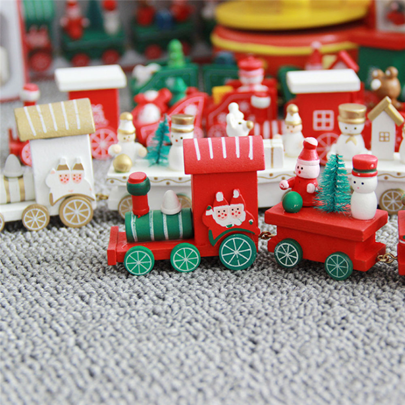 Christmas Wooden Train 1