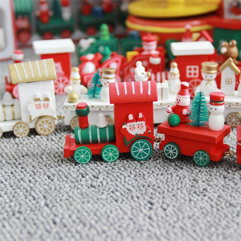 Christmas Wooden Train 1