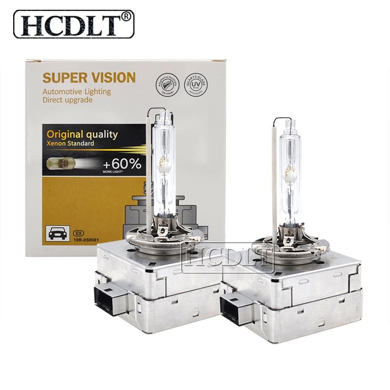 HCDLT Car Light Xenon D1S 55W HID Bulb 35W 6000K D3S Xenon Bulb Auto Headlight 4300K 8000K 5000K HID D1S D3S Replacement Lamp (7)