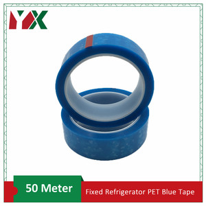 2PCS 40mm PET Blue Refrigerato