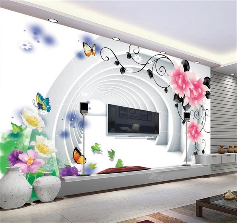 3d room photo wallpaper custom mural non-woven wall sticker butterfly flowers painting TV sofa background 3d wallpaper 3d room photo wallpaper custom mural moth orchid 3d photo painting room sofa tv background wall wallpaper non woven wall sticker