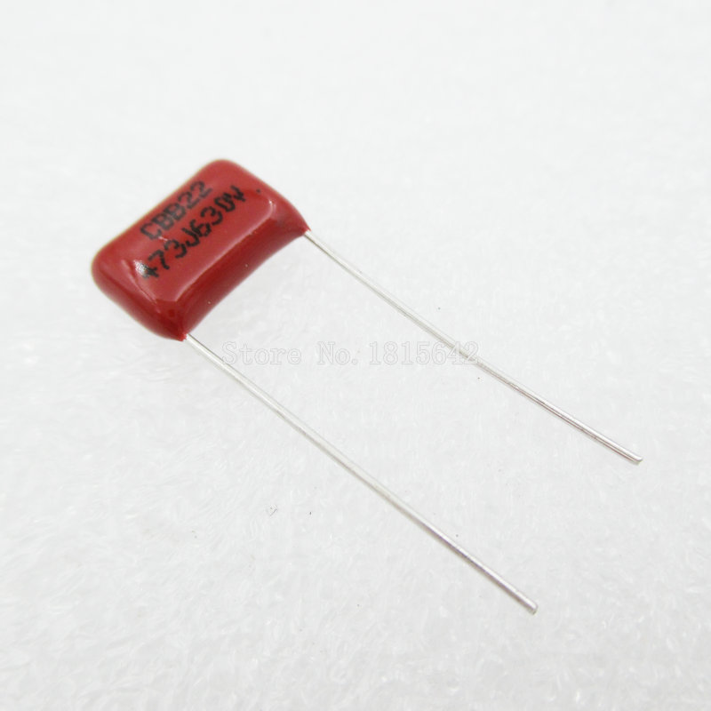 20PCS/Lot 47nF 473 630V CBB Polypropylene Film Capacitor Pitch 10mm 473 47nF 630V NEW