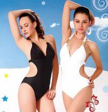 Women Padded Monokini Swimwear One-piece Swimsuit
