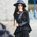 Autumn And Spring Oversized Tops T-shirt Women Long Sleeve Irregular Design Loose And Casual Cotton New Fashion Clothing