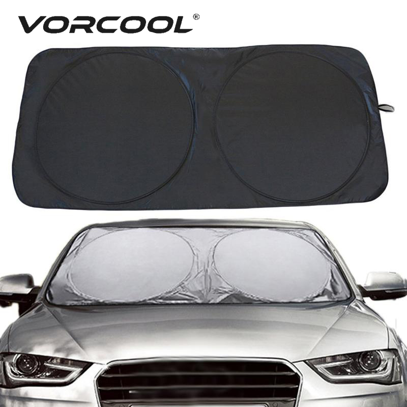 Car Windshield Cover Sun Shade Protector window anti-UV film stickers 150*70cm