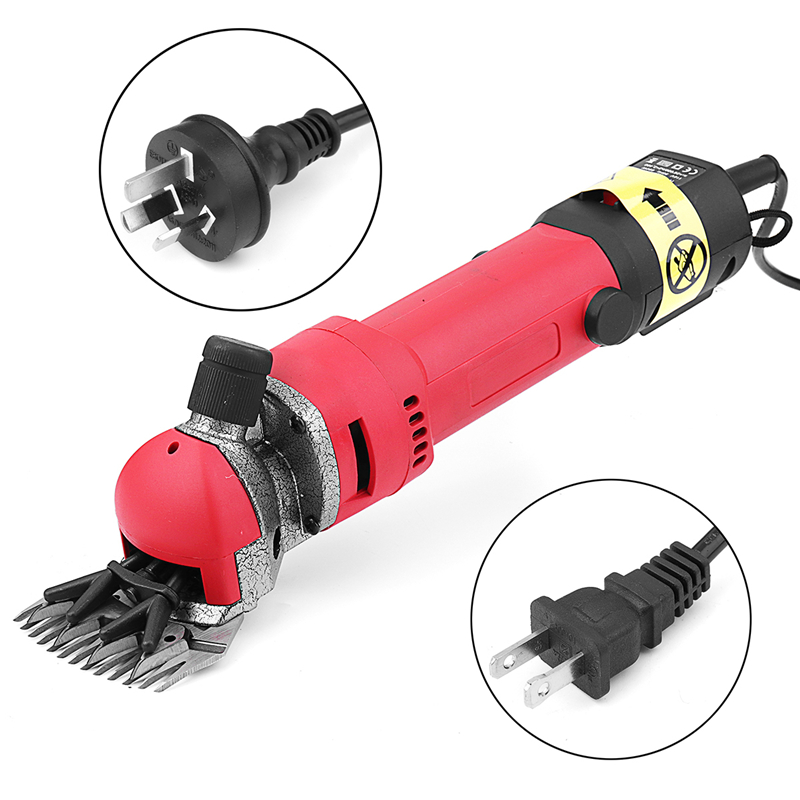 Doersupp 1 pc EUA/AU Plug 690 w 220 v Elétrica Tesouras de Corte de Cabelo Clipper Animal Cabra Ovelha Alpaca máquina agrícola