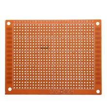 Hot New 5x PCB Prototyping Printed Circuit Board Breadboard Prototype Stripboard 7x9cm Hot Sale