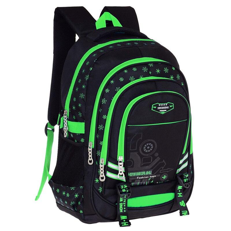 tahan air tas sekolah anak ortopedi backpack primer untuk laki