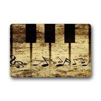 Geheugen Thuis Unieke Stijl Deur Matten Decor Vintage Sleutels met Muzieknoten Deurmat Vloermat Badmat Indoor Outdoor Decor