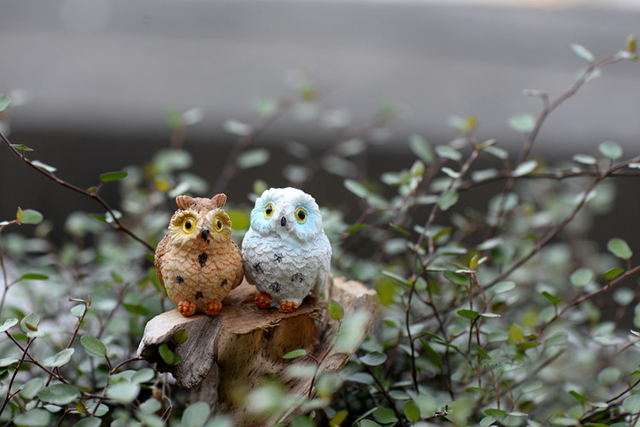 Cute Mini Owl Figurine