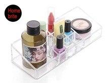 Organizador de cosmeticos Maquillaje Claro Joyería de Almacenamiento Organizador Cosmético Caja de Exhibición de Acrílico Caso de Rack Titular OW006