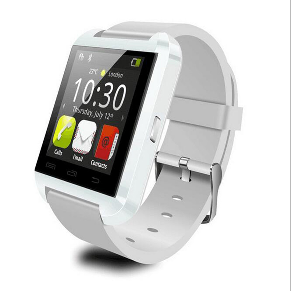 font b smartwatch b font u8 bluetooth electronic silicon Material waterproof smart watch smart bracelet