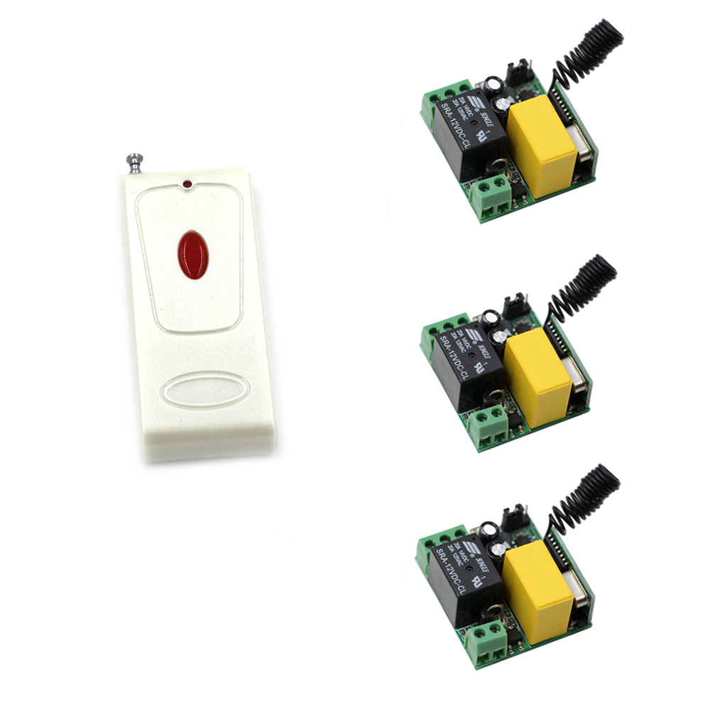 Wireless Remote Control Switch Remote Light Power Switch Remote ON/OFF Radio Output 220V Relay Wireless Receiver + Transmitter 220v ac 10a relay receiver transmitter light lamp led remote control switch power wireless on off key switch lock unlock 315433