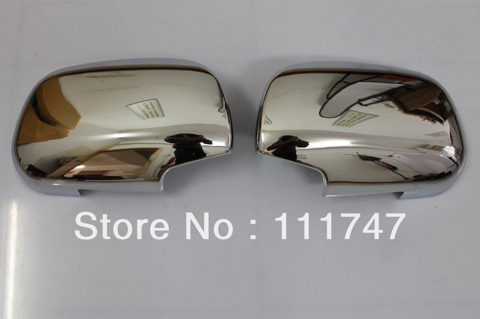 Free shipping! ABS chrome rearview rear view mirror cover trim for Toyota RAV4 XA30 2006 2007 2008 2009 2010 2011 2012 aftermarket free shipping motorcycle parts eliminator tidy tail for 2006 2007 2008 fz6 fazer 2007 2008b lack
