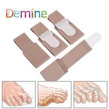 Toe-Separator Inserts Correction-Strap Pad 4pcs Thumb-Extrusion-Heel Strap-Toe